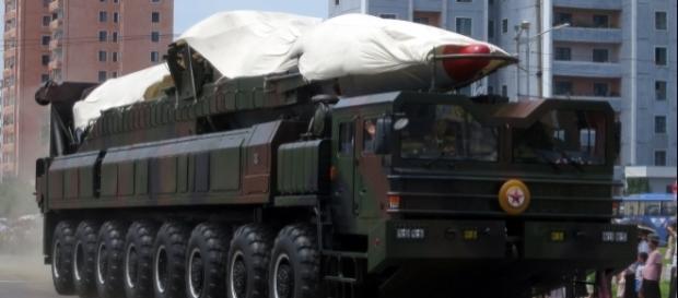 North Korean ballistic missile - Stefan Krasowski Via Wikimedia