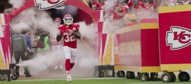 Spencer Ware - Kansas City Chiefs via YouTube (https://www.youtube.com/watch?v=S0SddV4baG0)