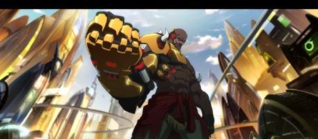 Blizzard nerfed Doomfist's Rocket Punch ability in 'Overwatch.' [Image: YouTube/PlayOverwatch]