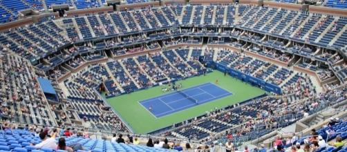 Arthur Ashe Stadium at Flushing Meadows (Creative Commons/slgckgc)