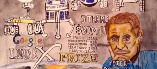 El Google Lunar X Prize, la nueva carrera a la luna vence en diciembre.