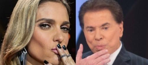 Fernanda descumpre ordens da Globo e continua os ataques a Silvio Santos