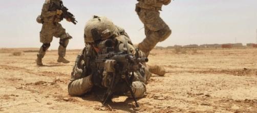 Kirkush Military Training Base in the Diyala province of Iraq, 2010 / [Image by U.S. Department of Defense via Flickr, U.S. Gov. Work]