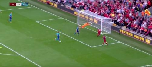 Liverpool player Sturudge scores the final goal - showtime youtube