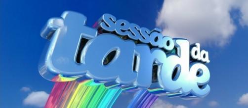 Na foto um dos logotipos mais clássicos da Sessão da Tarde
