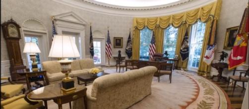 New Photos Reveal Gorgeous Completed White House Renovations [Image via YouTube: TOP NEWS HEADLINES DAILY]