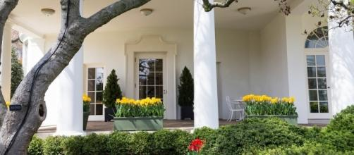 Outside the Oval Office at the White House. / [Image by The White House via Flickr, Public Domain]
