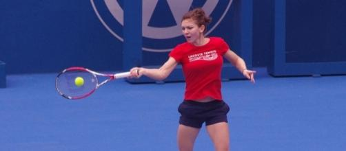 Simona Halep of Romania (Wikimedia Commons/NAPARAZZI)