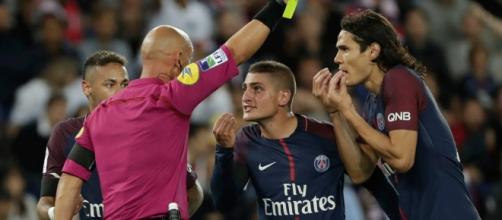 Verratti retombe dans ses travers. (AFP / Thomas Samson)