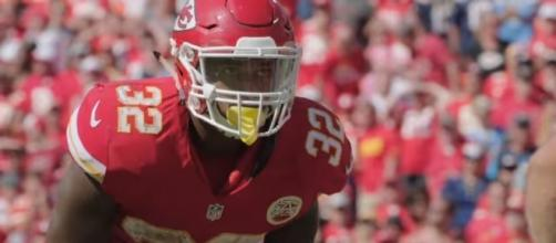 Vote Spencer Ware for 2017 Pro Bowl from YouTube/Kansas City Chiefs