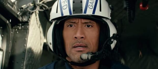 """Dwayne """"The Rock"""" Johnson's character in """"San Andreas"""" inspired a boy to save his brother's life [Image: YouTube' Warner Bros. Pictures]"""