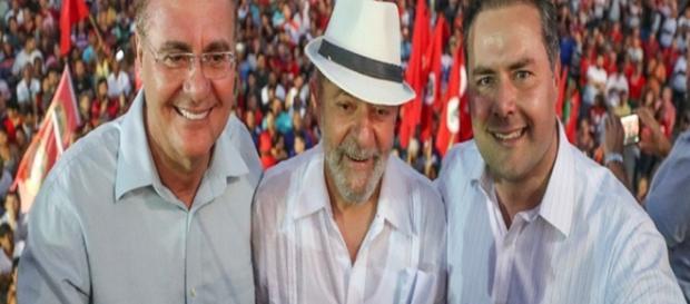 Lula, em visita ao Nordeste, busca coalizão com Renan Calheiros (PMDB)