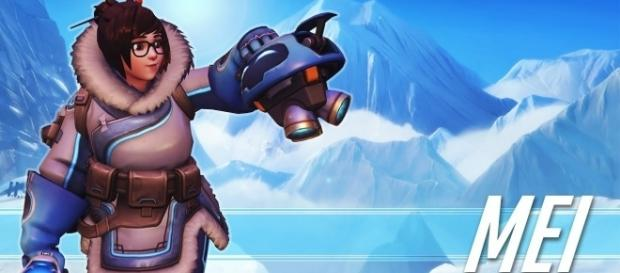 'Overwatch' Mei out of bounds/enemy spawn wall glitch discovered!(TaipeiKindom/YouTube Screenshot)