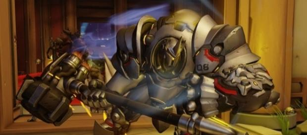 """When it comes to tanking, players is often pick Reinhardt in """"Overwatch"""" (via YouTube/PlayOverwatch)"""