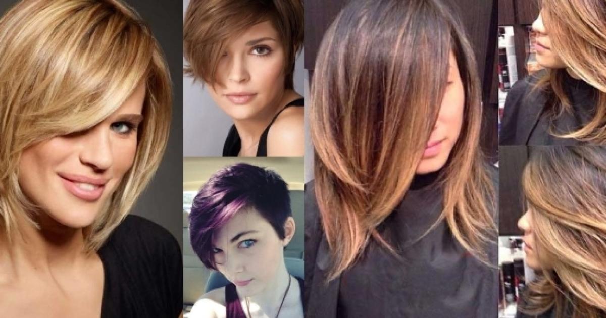 Nuovi tagli di capelli medi, corti e scalati: look autunno ...