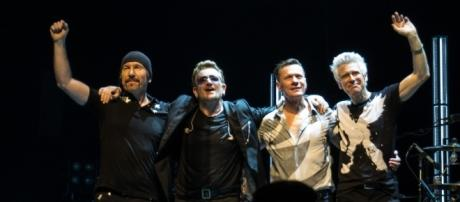 U2 unveil the first taste of their new album 'Songs of Experience' - photo by U2start via Wikimedia Commons.