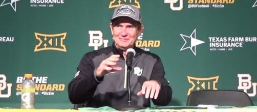 Art Briles - Mustard Slinger Sports via YouTube (https://www.youtube.com/watch?v=J8jwXKoriRk)