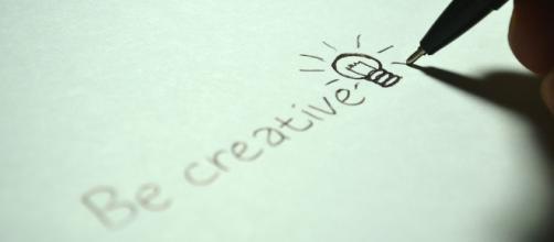 Be Creative. Image via Pixabay