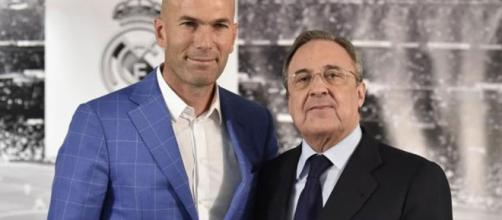"Florentino Pérez to Zidane: ""For you the word impossible doesn't ... - marca.com"