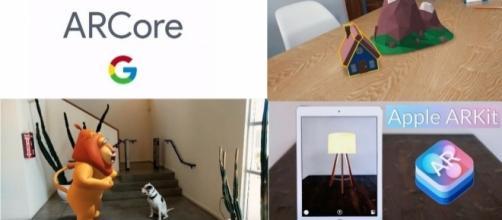 Google Arcore vs Apple Arkit: sfida realtà aumentata - Fonte:Youtube