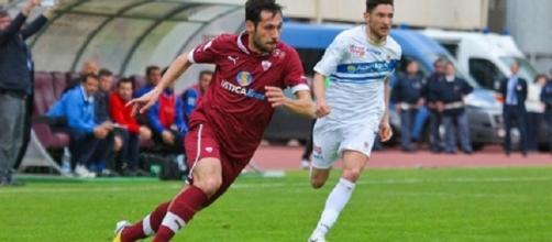 Matteo Mancosu: la sua doppietta permise al Trapani di espugnare Lecce, il 4 marzo 2013