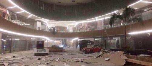 Plaza Ámbar en Chiapas, después del sismo