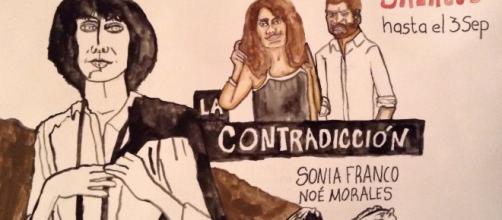 Sonia Franco en la Contradicción hasta el 3 de Septiembre en la sala CCB