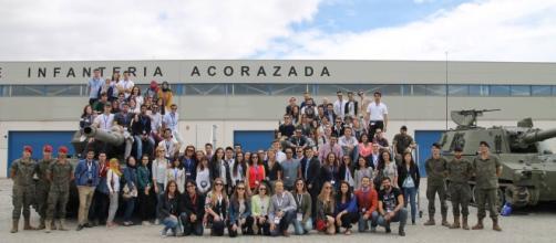 Visita al la Base Militar El Goloso, Madrid 2016