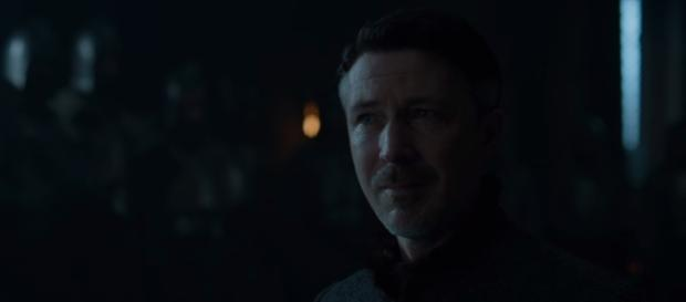 Aiden Gillen as Petyr Baelish in The Dragon and the Wolf (Source: GameofThrones via YouTube)