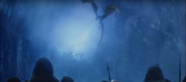 """Game of Thrones"" Season 7 Episode 7 final scene /Photo via Shankar S, www.youtube.com"