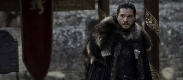 Jon Snow en el episodio final de 'Game of Thrones'