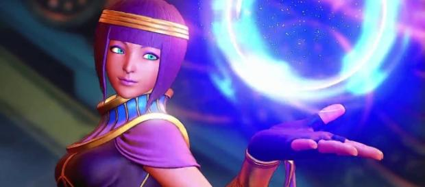 "Menat is the 27th character on the ""Street Fighter 5"" roster 