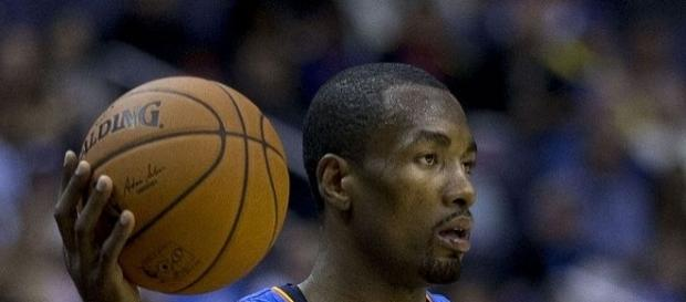 Serge Ibaka must step up if he wants to keep the starting job with the Toronto Raptors -- Keith Allison via WikiCommons