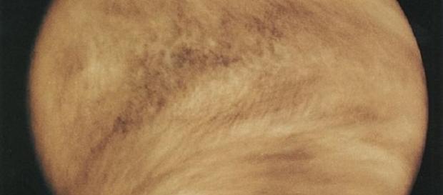The planet Venus (Courtesy NASA)