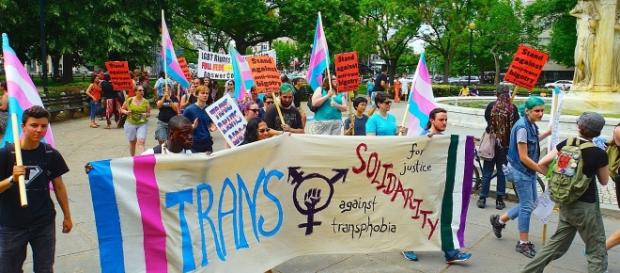Trans solidarity rally by tedeytan/Flickr