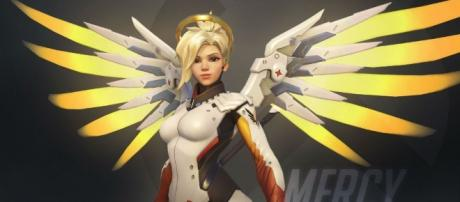 "Recently, Blizzard a new update on ""Overwatch"" PTR that changed Mercy significantly (via YouTube/PlayOverwatch)"