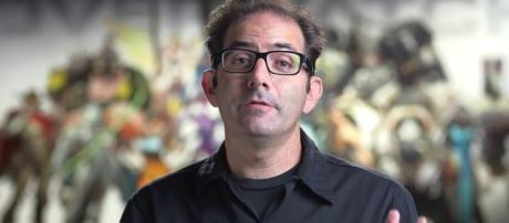 The 'Overwatch' game director. (image source: YouTube/dinoflask)