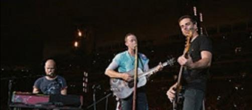 Coldplay brings a song of strengh and warm comfort to Houston from Miami--just once. Screencap Coldplay Official/YouTube
