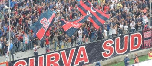 Curva sud Crotone, squadra di Serie A
