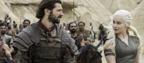 Daario e Daenerys já formaram um casal em 'Game of Thrones'