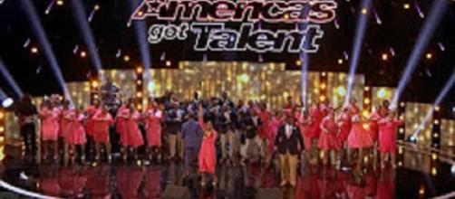 """DaNell Daymon and Greater Works wowed """"America's Got Talent"""" again to Topen the last quarterfinals. Screencap Anthony Ying/YouTube"""