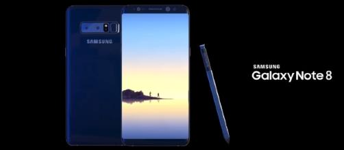 Galaxy Note 8 (Image credit: YouTube/Enoylity Channel)
