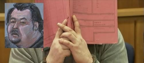 German nurse may have killed 84 more patients - inset court room sketch (Image credit: Euronews/YouTube)