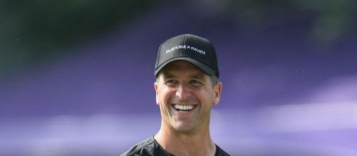 Harbaugh just got paid Keith Allison via Wikimedia Commons