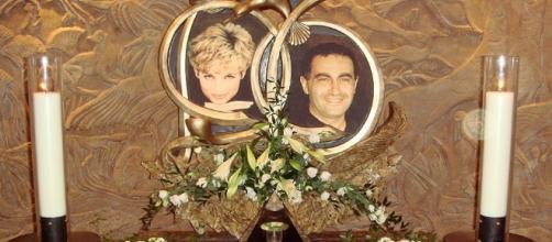 Imagen de Lady Di y Dody Al Fayed