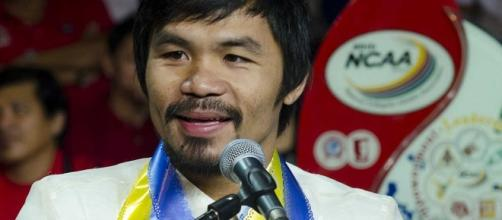 Manny Pacquiao/ photo by Inboundpass via Flickr