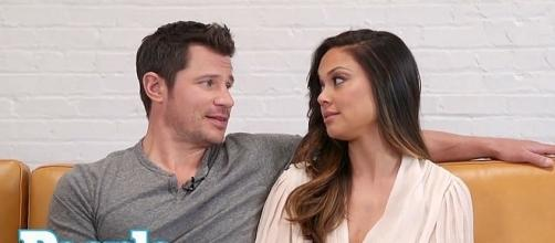 Nick and Vanessa Lacey will compete on 'Dancing with the Stars' [Image: People/YouTube screenshot]