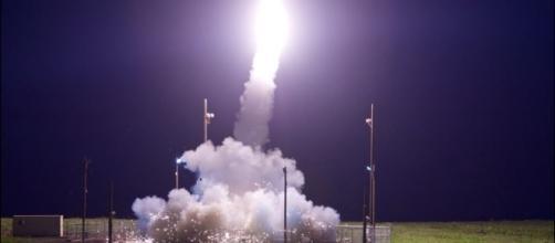 North Korea's ICBM lands in Japan's economic zone. - Department of Defense