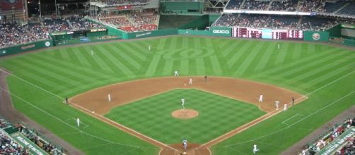 Playoff baseball is coming. Nymfan9 via Wikimedia Commons