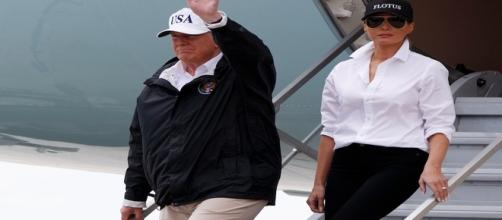 President Trump and Melania in Texas re: Google Advanced Images